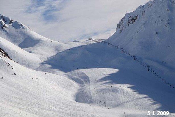 Baqueira Beret Jan 5th snow 677px