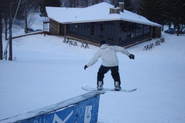 Ski Denton PA snowboarder