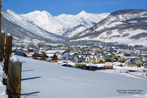 View of Crested Butte town