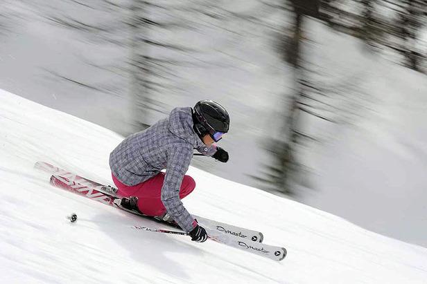 La marque Dynastar propose depuis plusieurs années déjà des skis 100% féminis - ©Dynastar
