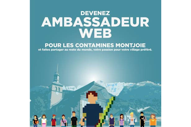 Devenez ambassadeur web des Contamines-Montjoie