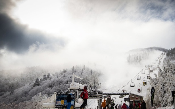 Opening day 2012/13 at Killington. Photo Courtesy  of Killington Resort.