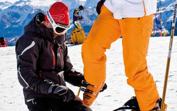 Pour skier en toute tranquilité, pensez à vérifier le réglage de vos fixations - ©Stefcande.com