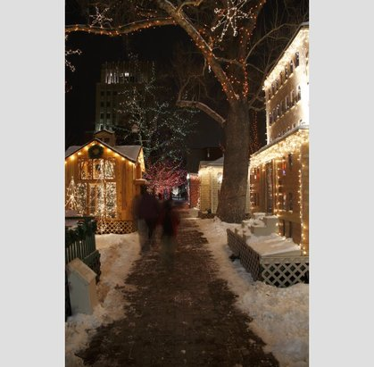 Ogden's Christmas Village illuminates the town's Historic District during the holidays