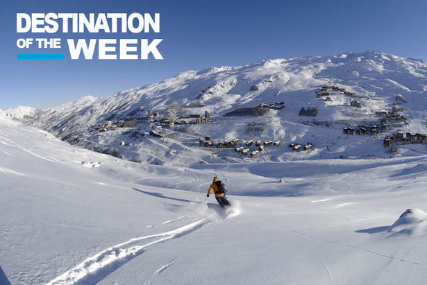 Extensive skiing with plenty of powder in Les Menuires - ©Les Menuires