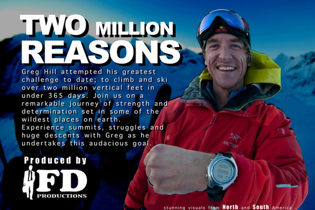 Alpenglow Sports' Winter Film Series will host Greg Hill's 2 Million Reasons & The Manaslu Disaster