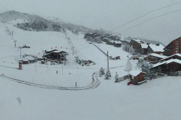 Chute de neige du 28 nov. 2012 - Meribel