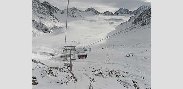 Skilift op de Pitztalgletsjer - ©Pitztaler Gletscher