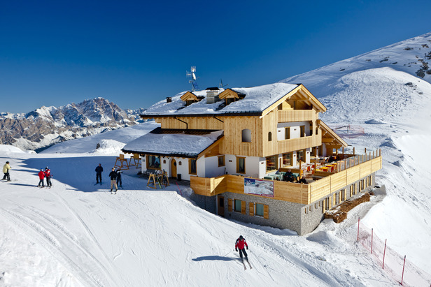 Mountain restaurant Refuge Averau, Cortina (credit: DG Bandion)