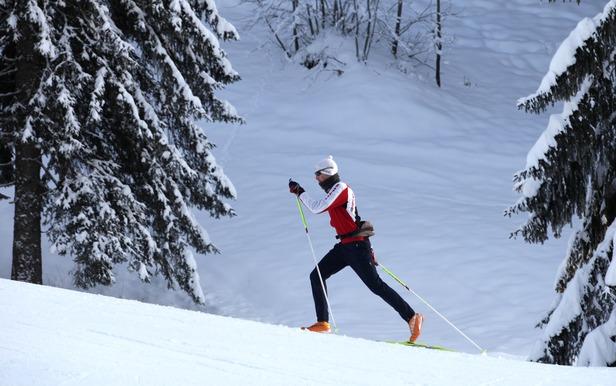 Ski de fond au Grand Bornand - ©S. Chappaz - Aravis