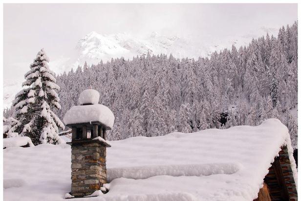 Fresh snow in Gressoney - Monterosa Ski, Italy. Nov. 29, 2012 - ©Arch. Fotografico Monterosa Ski