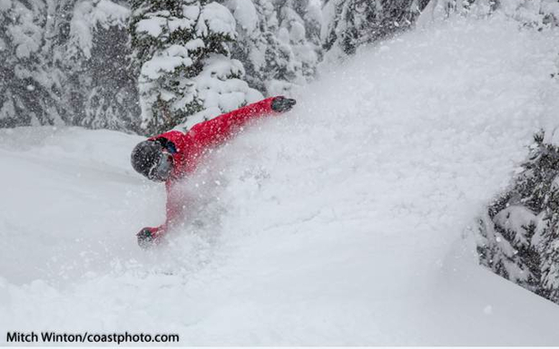 Early season conditions at Whistler Blackcomb delivered powder. Photo by Mitch Winton/Coastphoto.com. - ©Mitch Winton/Coastphoto.com