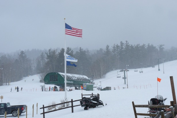 Gunstock Mountain in New Hampshire.
