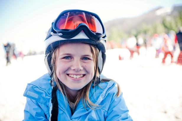 Skiing kids are happy kids. Photo Courtesy of Catalooche Ski Area.