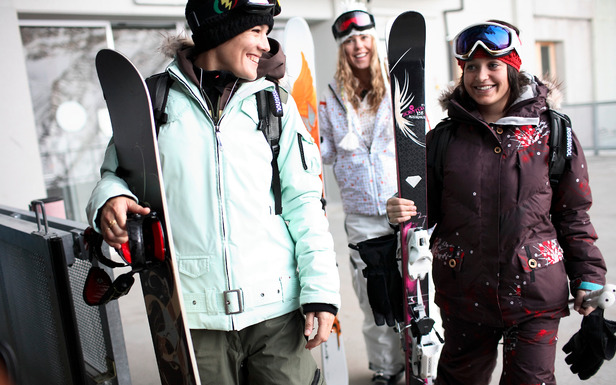 Canada Olympic Park offers a special women's program. Photo courtesy of Winsport Canada.