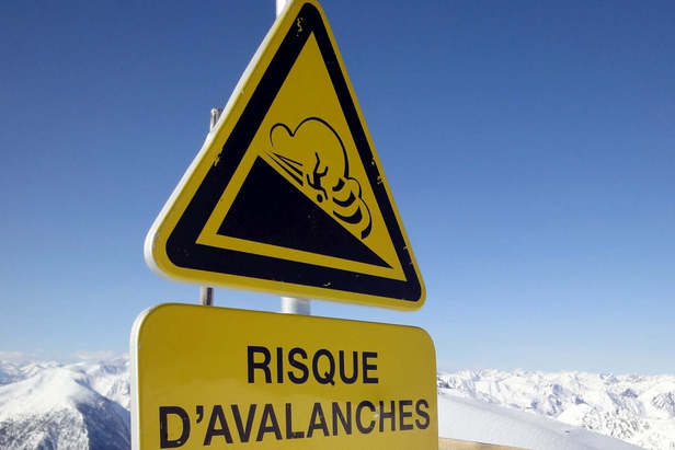 Risque d'avalanche - Soyez prudents