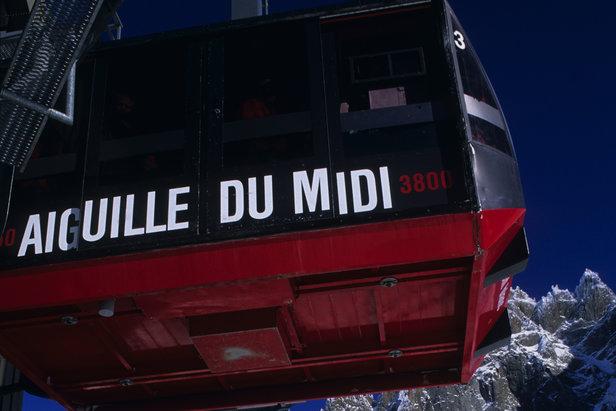 Départ pour l'Aiguille du Midi... - ©Chamonix Tourism