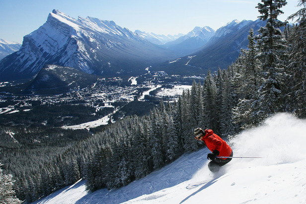 Mt. Norquay is adjacent to the historic town of Banff. - ©Mt. Norquay