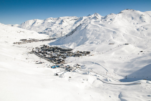 Tignes resort, France