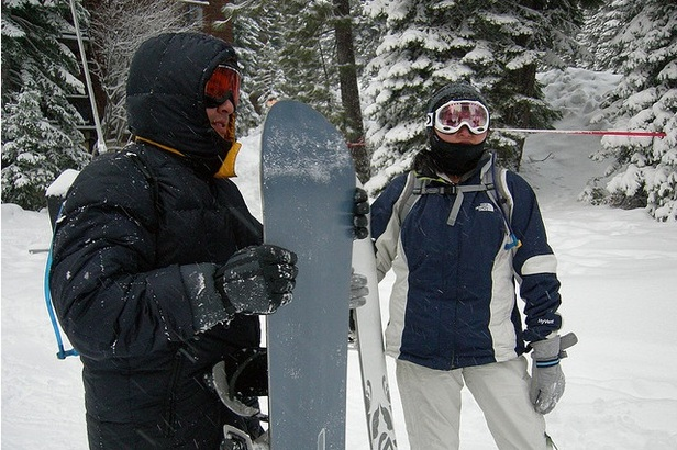 Getting ready to ski and snowboard. - ©Flickr/star5112