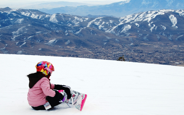 Kids and teens ski and eat for just $25 this spring with this combo deal.  - ©Mt. Rose
