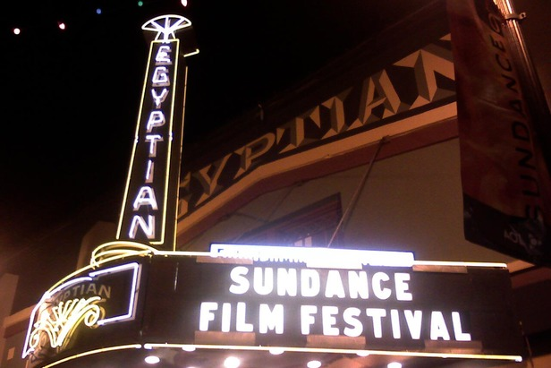 Egyptian Theatre during Sundance Film Festival