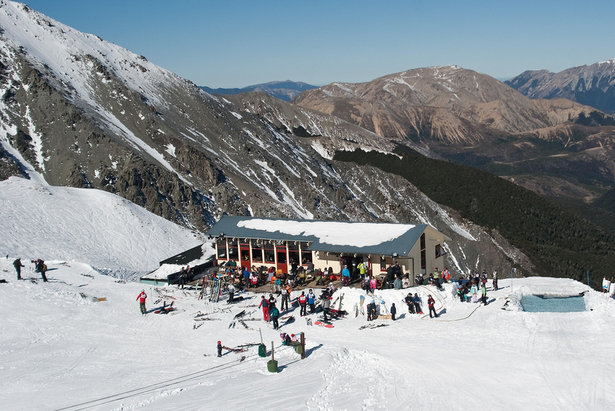 Craigieburn ski area, NZ