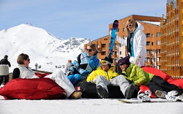 APOTHEOSE DAYS  : Le meilleur du ski et la meilleure des ambiances pour une fin de saison colorée à Val Thorens... - ©P.Lebeau / OT Val Thorens