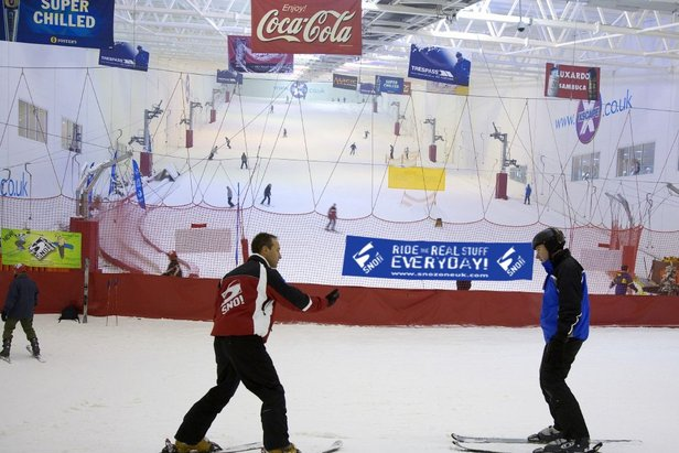 Snow Factor in Glasgow is the United Kingdom's largest indoor ski and snowboard facility featuring real snow. - ©Snow Factor