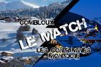Évasion Mont Blanc : Combloux vs Les Contamines