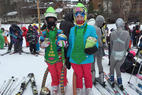 Holiday Valley - Fun day for the leprechaun's at the Mardi Gras parade. Ski conditions are a bit icy but skiable tomorrow should be softer conditions with 9 degrees forecast  - Holiday Valley - Fun