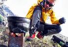 Gut ausgerüstet: Die wichtigsten Kleingeräte beim Biwakieren - ©Künzi Kocher / www.kuenzi.com