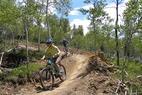 Granby Bike Winter Park Sol Vista Sherri Harkin 3 - Mountain bikers at Granby