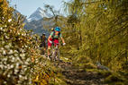 Mountainbiker in Kaprun