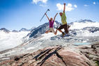Wandern am Pitztaler Gletscher