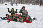 Wild Mountain MN group - Group playing in the