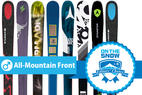 2015/2016 Top 8 Men's All-Mountain Front Skis