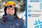 Ski Tester: Heather B. Fried - Heather B. Fried. Job