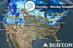 Snow Before You Go: Snow Tracking for Both Coasts - ©Meteorologist Chris Tomer