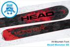 Head Monster 88: 16/17 Editors' Choice Men's All-Mountain Front Ski - ©Head