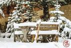 neige 13 octobre 2016 Vars - ©Facebook Vars