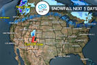 11.3.16 Snow Before You Go: Hit Canada for Election Week - ©Meteorologist Chris Tomer