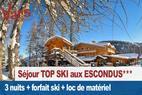 Séjour Top ski aux Escondus