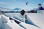 Suzuki Nine Queens: Maria Bagge gewinnt Big Air Contest vor Kaya Turski - ©Klaus Polzer