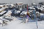 Slalom in Courchevel: Schild gewinnt, Höfl-Riesch verletzt, Lena Dürr stark - ©Christophe PALLOT/AGENCE ZOOM