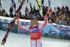 Slalom-Finale: Schild führt, Riesch im Vorteil gegen Vonn - ©Alain GROSCLAUDE/AGENCE ZOOM