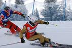 Die Ski Crosser werden losgelassen - ©Les Contamines Montjoie/NUTS JP Noisillier