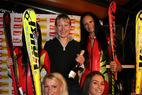 Große Party in Sölden zum Auftakt der alpinen Weltcup-Saison  - ©Völkl