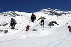 Ski Cross Weltcup-Auftakt in St. Johann - ©Stefan Hunziker