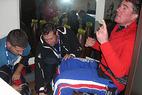 Rocca trifft Flühr beim Weltrekordversuch in Landgraaf - ©Christian Flühr